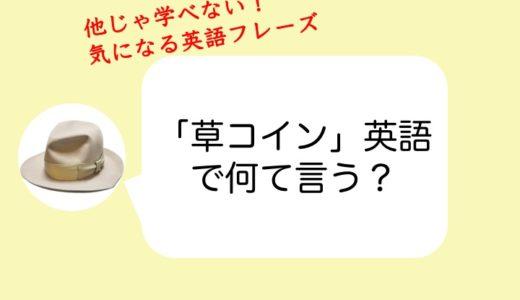 【仮想通貨】「草コイン」を英語で調べて億り人を目指す方法!